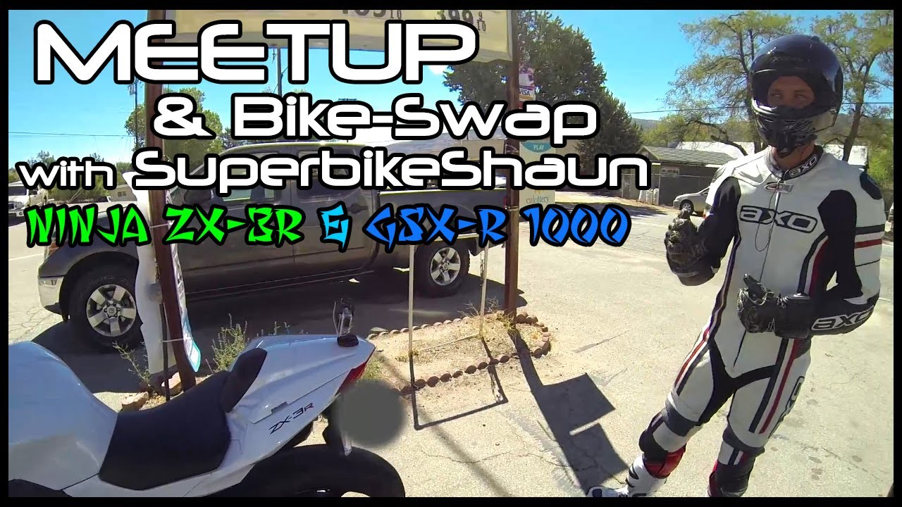 SuperbikeShaun Meetup: Ninja 300 and GSX-R 1000 Review!