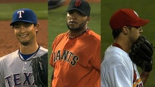 Three pitchers fall one out shy of no-hitters in 2013