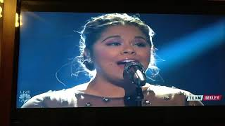 Brooke Simpson - Performance  - O. Holy Night- The Voice , December 18, 2017.