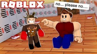 BEATING UP MY HIGH SCHOOL BULLY IN ROBLOX! (Roblox Roleplay)
