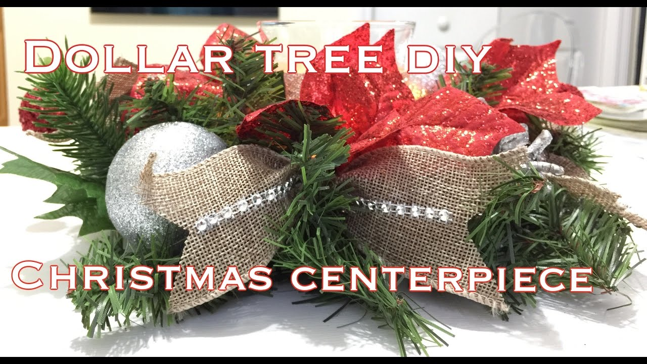 Dollar Tree Christmas Centerpiece DIY|VD#7