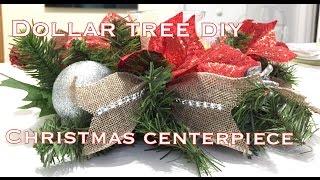 Dollar Tree Christmas Centerpiece DIY|VD#7