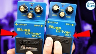 The BOSS Blues Driver Pedals Compared! (BOSS BD-2 + BOSS BD-2W)