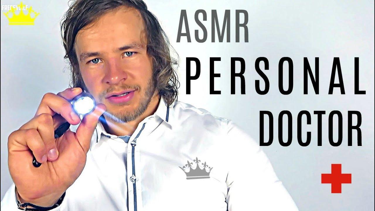 Personal Doctor   ASMR   Head & Eye Examination