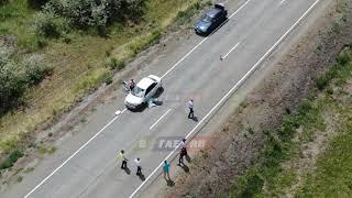 На Ириклинской трассе насмерть сбили юную велосипедистку