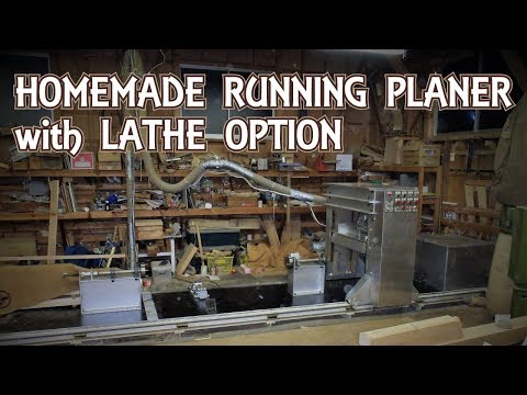 Homemade Running Planer with Lathe option