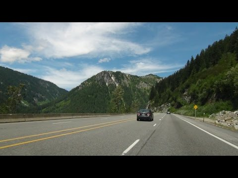 Time Lapse: Vancouver, BC through the Cascades to Leavenworth and Quincy, Washington