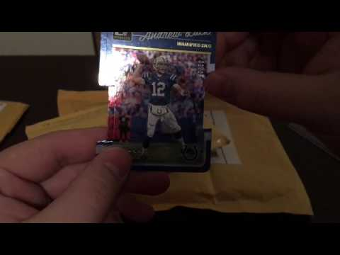 Mail Day 9: Peyton Manning, Andrew Luck, Donruss Optic and More! [Gibson Bros]