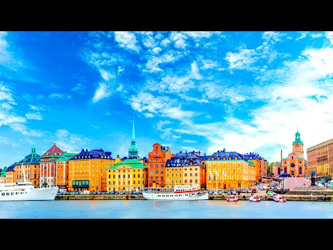 A Walk Around the Beautiful City of Stockholm, Sweden