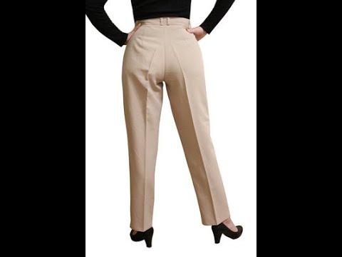 Выкройка женских брюк. Построение чертежа основы
