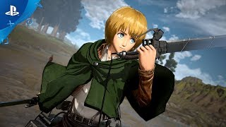 Attack on Titan 2: Final Battle | Armin Titan Reveal Trailer | PS4