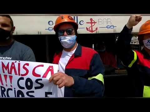 A votar con el traje puesto: el 12-J de los trabajadores de Alcoa