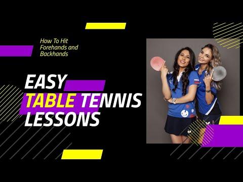 Уроки настольного тенниса. Трейлер. Настольно-теннисный влог. Секреты покорения мяча ракеткой.