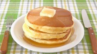 Wie man Heißen Kuchen (japanische Pfannkuchen-Rezept) | OCHIKERON | Create Eat Happy :)