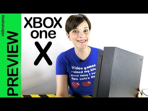 Xbox One X preview -exclusiva project scorpio-