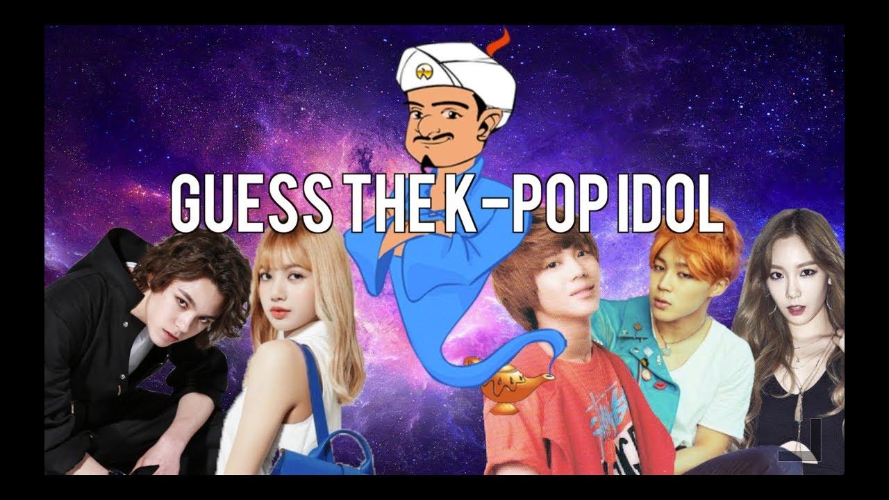 Akinator Guess The K Pop Idol Youtube