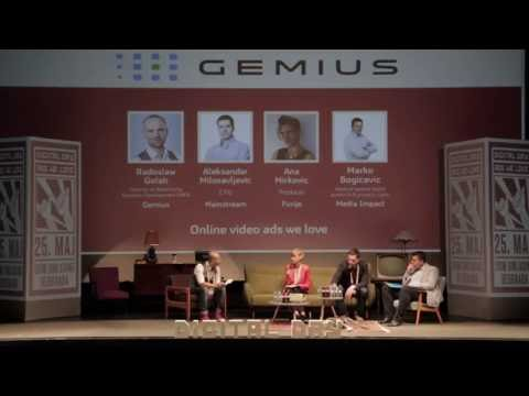 Online video ads we love - Panel Discussion 2 Digital Day 2016
