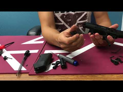 468 PTR Disassembly And Trigger Adjustment