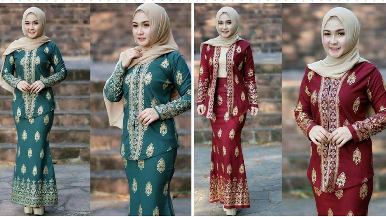 11 Model Baju Kebaya Songket Pesta Terbaru 11/11