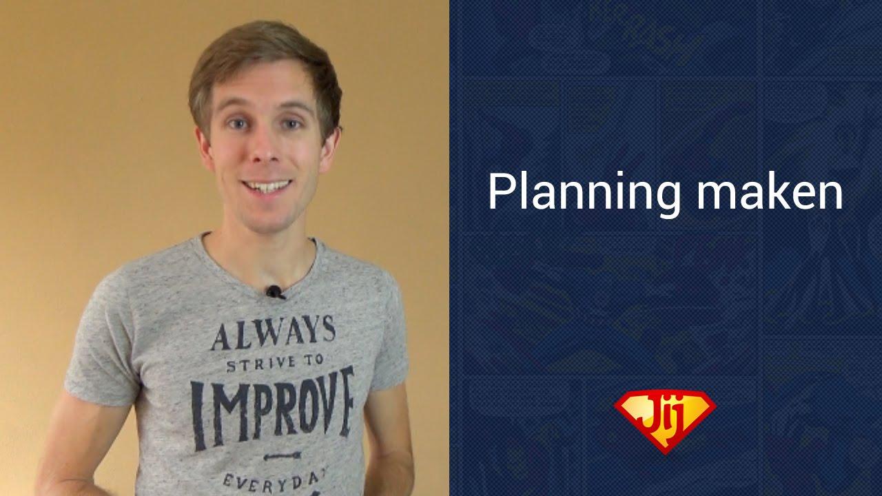 Planning maken hoe maak je de perfecte planning youtube for Planning maken