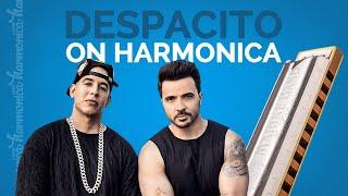 Despacito Harmonica Cover
