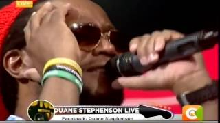 Duane Stephenson performs
