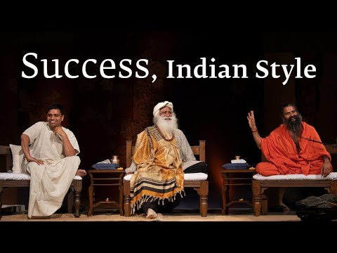 Success, Indian Style – Sadhguru Spot of 11 Aug 2018