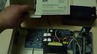 Ремонт источника бесперебойного питания APC 650(Ремонт источника бесперебойного питания APC 650 Repair the source APC UPS 650., 2015-04-15T18:08:15.000Z)