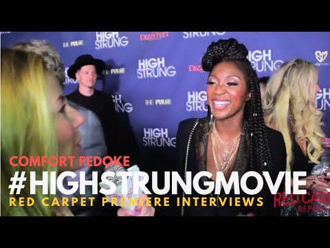 """Comfort Fedoke #SYTYCD at the Red Carpet Premiere for """"High Strung"""" #HighStrungMovie"""