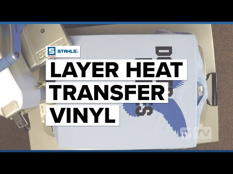 Heat Transfer T-shirt Vinyl Layering: A Guide to Success