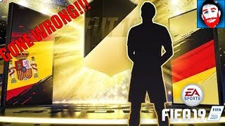 PAINFUL Pack opening - GONE WRONG!!! | FIFA 19