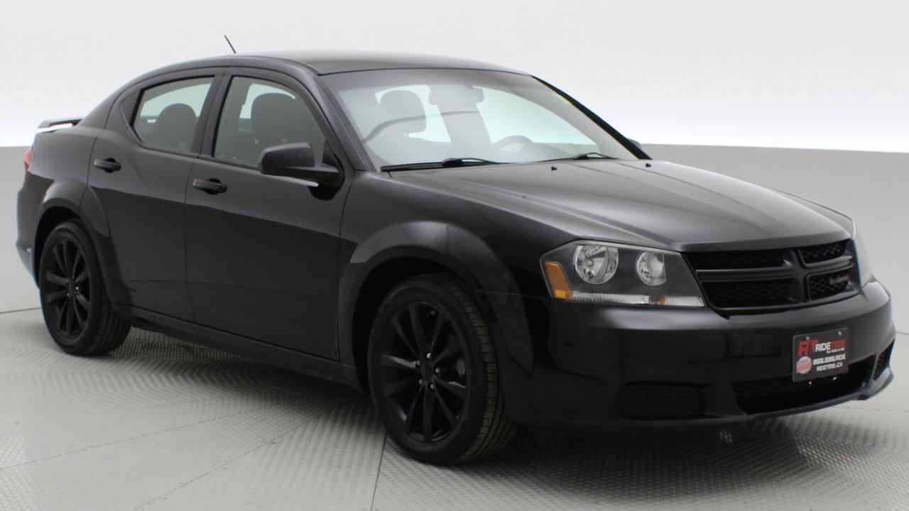 2013 Dodge Avenger SE Blacktop   Black Alloy Wheels, Uconnect ...