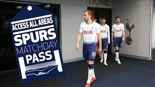 SPURS MATCHDAY PASS | BEHIND THE SCENES | Spurs 2-0 Crystal Palace