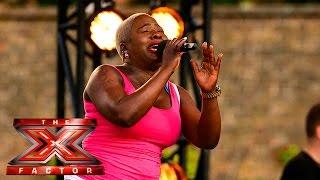 Jennifer Phillips performs Mariah Carey hit   Boot Camp   The X Factor UK 2015