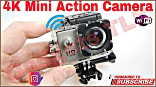 Unboxing of Cheapest Action WIFI Camera- Only 1200 Rupees | Gadgets TLK