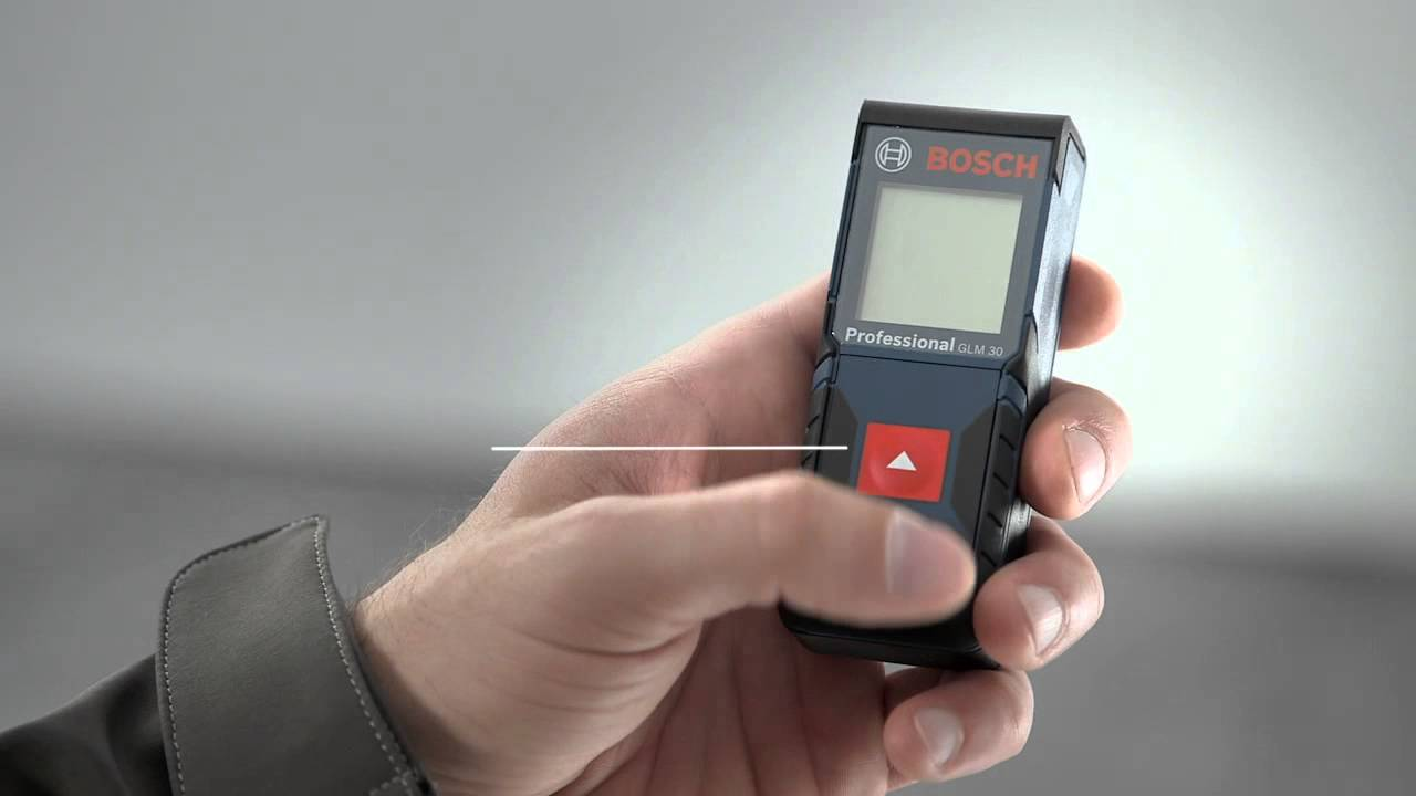 Bosch laser entfernungsmesser glm professional youtube