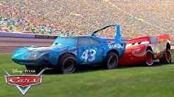 Lightning McQueen Helps The King! | Pixar Cars