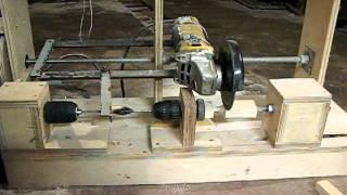 Самодельный станок для изготовления воблеров(Чертежей нет. Всё делалось на коленке из подручных материалов., 2012-01-05T17:58:11.000Z)