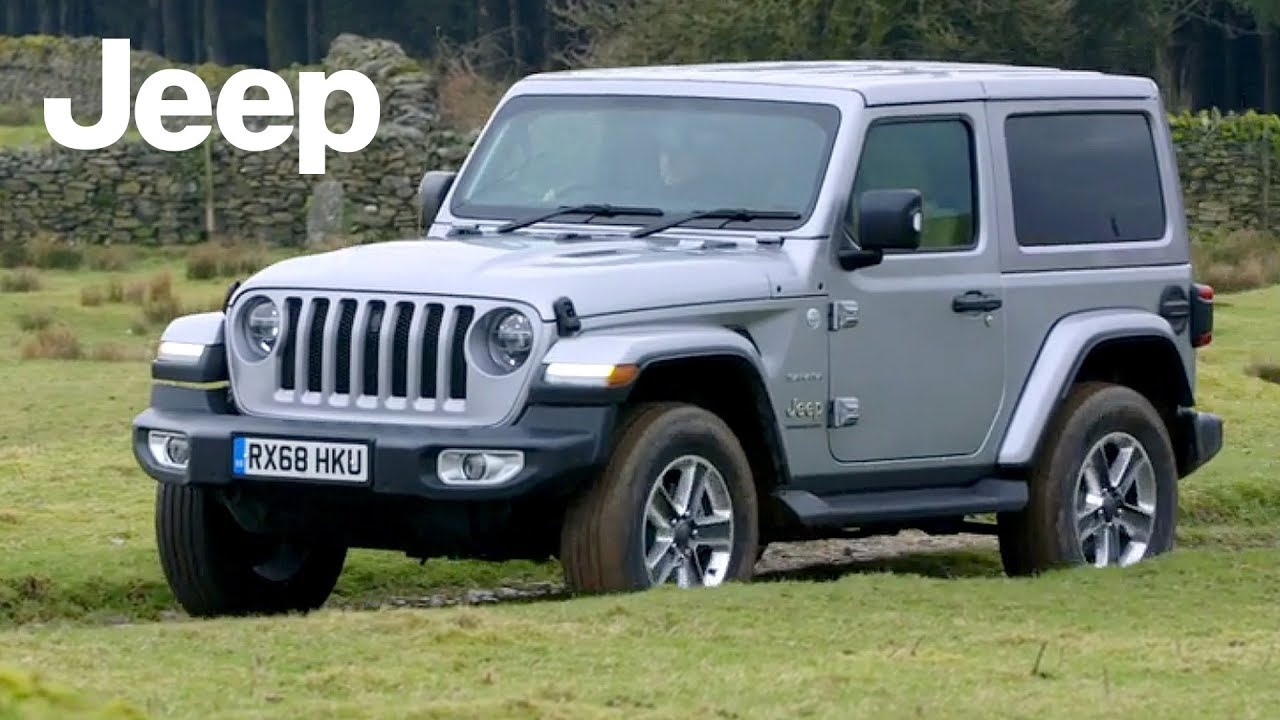 Silver Jeep Wrangler >> 2019 Jeep Wrangler Sahara Billet Silver Road Trail Driving Interior Exterior Uk Spec