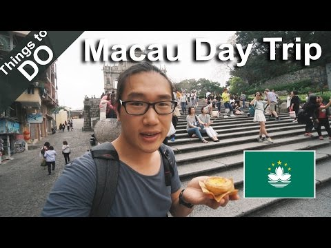 Macau Travel Day Trip // Things to do in Macau  // A6500