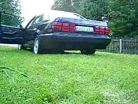 Sound of my Audi V8