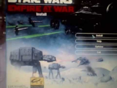 Star Wars Empire At War Product Code To Install It 33