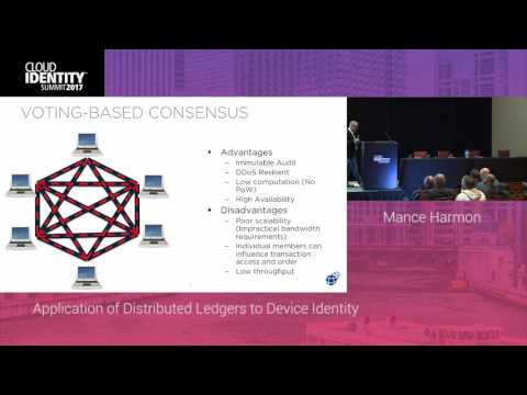 6/21 | Application of Distributed Ledgers to Device Identity | CIS 2017