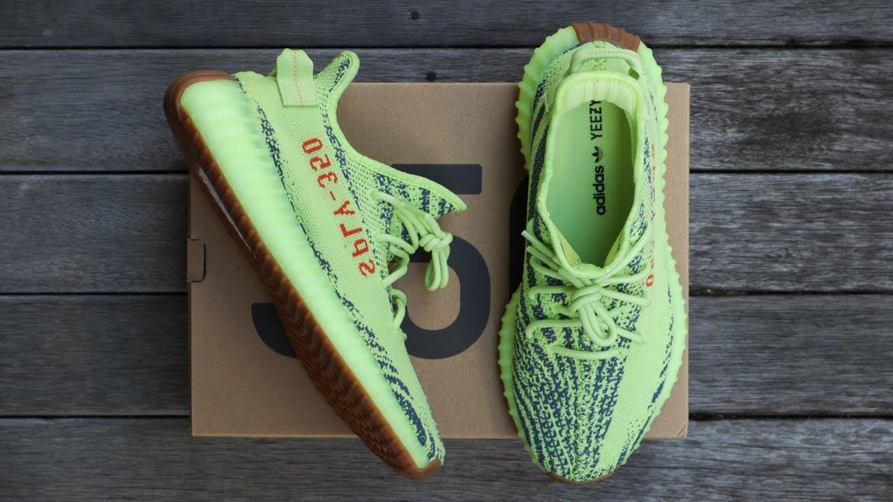 e543b0cf6b4  StanSneakerTV  AdidasSneakersOverview  YeezyBoost350V2SemiFrozenYellow