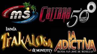Banda MS,La Adictiva,La Arrolladora,Banda El Recodo Mix Band...