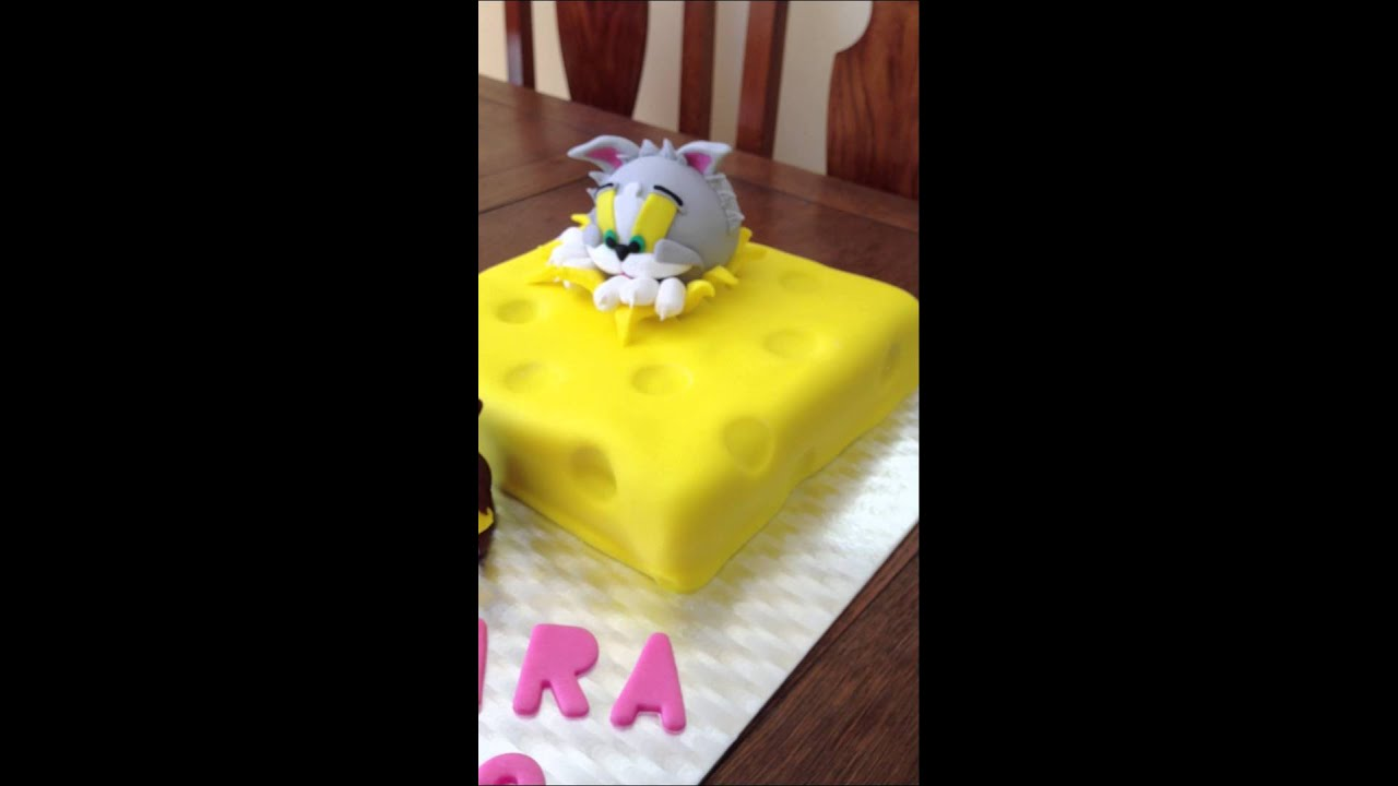 Tom Jerry Cake YouTube