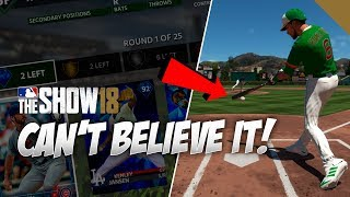 Check out me Hitting a HR my very FIRST at bat in MLB The Show 18 B...