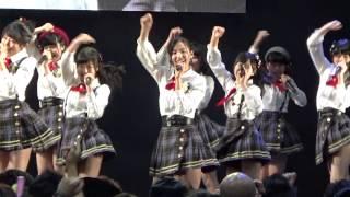 AKB48 チーム8 2015年5月10日 ドラキ福島 2日目1回目公演 柵外0ポジか...