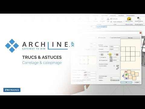 Trucs Astuces Archline Carrelage Calepinage Youtube