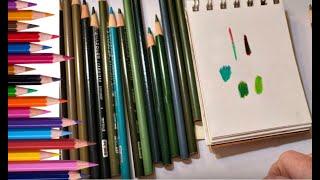 Tips And Tricks For Blending Prismacolor Greens